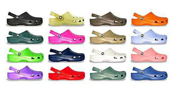 Topánky crocs sú tak škaredé, že ich musíte milovať! / crocs
