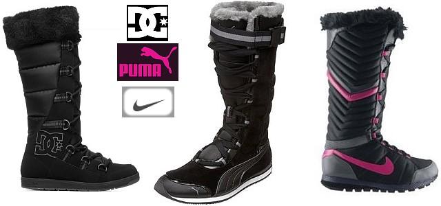 3d25bc75f17f7 Vyberte si svoje snehule! - DC, Puma či Nike? — LUXURYMAG