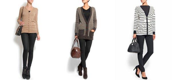 1870e6104f57 Dlhé svetre vám pomôžu prekonať sychravú jeseň aj mrazivú zimu (http   www.  Mango. Trefou do čierneho je dlhý sveter na gombíky ...