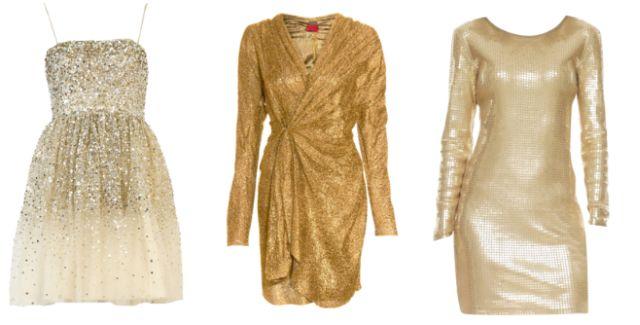 a0946652458c Buďte na Silvestra oslnivá!   Zlaté párty šaty a doplnky — LUXURYMAG