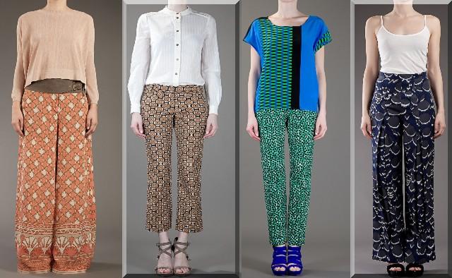 dde0ecce6e70 Skutočne ojedinelé! - Vzorované nohavice (http   www.luxurymag.sk