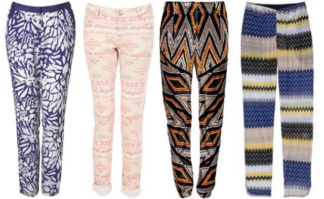 e6d23432c00b Skutočne ojedinelé! - Vzorované nohavice (http   www.luxurymag.sk ...
