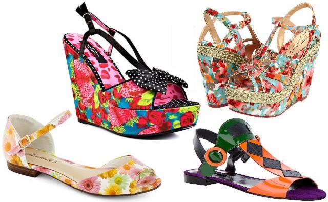 00d01b954 Dámske farebné sandále (http://www.luxurymag ...