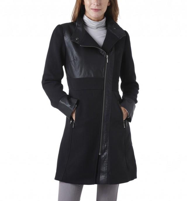 ... Dámske kabáty jeseň - návrat trenčkotov a asymetrie (http   www. luxurymag 2d2ed67aa77