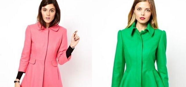 Jeseň nemusí byť šedivá!   Skúste farebné a originálne kabáty ... e490d4559d5
