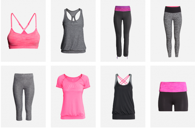 089358c494e73 Ladies, go athletic stay fashion! - Kolekcia športového oblečenia H ...