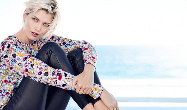 H & M Spring 2015 Preview collection: Sunny Days (http://www.luxurymag.sk)