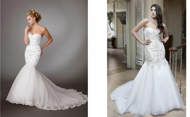 Všetky výrazné trendy svadobných šiat v tomto štýle sa najlepšie uplatňujú  na takzvaných vintage šatách. Nechajte sa inšpirovať svadobnými šatami  svojich ... 2763ef3cc59