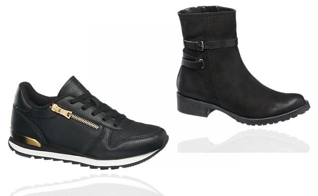 457f5fef37 Nemecký favorit značka Deichmann sa v dámskych jesenných topánkach toľko  nelíši od svojej konkurencie. Tenisky