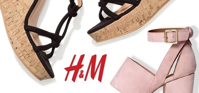f11d32e86e6f9 Topánky kam sa pozrieš: s H & M! — LUXURYMAG