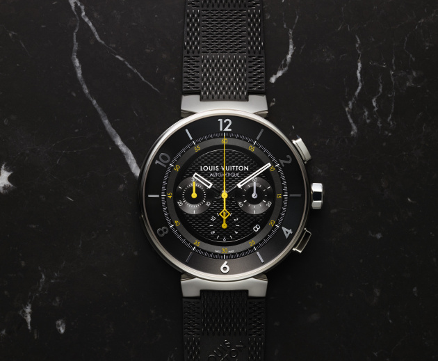 TAMBOUR Moon Chronograph Black