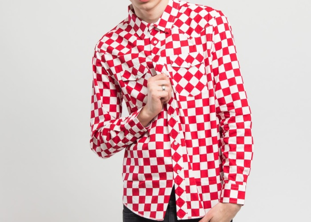 Checker Western LS Shirt