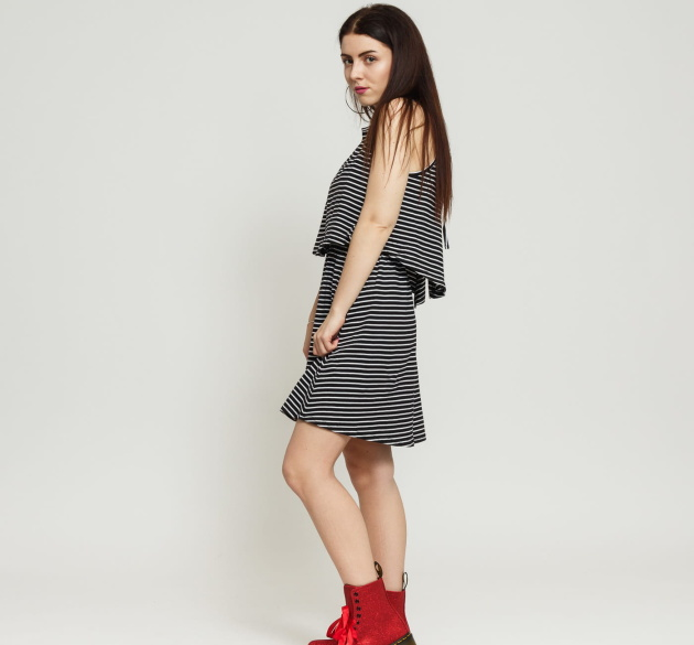 Urban Classics Ladies 2-Layer Spaghetti Dress